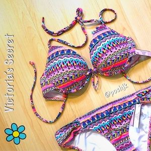 NWT Victoria's Secret Bikini Push Up